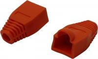 Коннектор Колпачок под RJ45 красный (изолирующий)