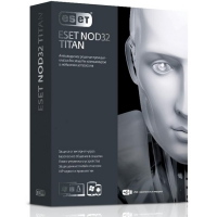 ПО ESET NOD32 TITAN-лиц на 1ПК баз прод NOD32 Smart Security-лиц на 1год на 3ПК, BOX (Позитроника)