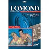 Фотобумага Lomond 1108100 A4/290г/м2/20л. суперглянцевая для струйной печати