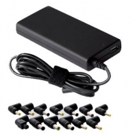 Универсальный адаптер питания для ноутбуков GiNZZU® GA-2180U (ультраслим, 80W, 1xUSB, 12V-24V, 13 DC-IN)