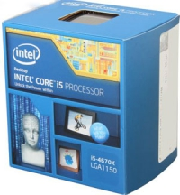 Процессор Intel® Core™ i5-4670  Box Socket 1150