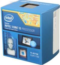 Процессор Intel® Core™ i5-4670  Box Socket 1150