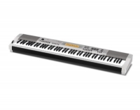 Цифровое фортепиано Casio CDP-230RSR (88клав,700тон,200+10ритм,6дор.cекв.,сэмплр,арп,USB,SDHC,AUX,2х8Вт,Hall Effect, серебристый