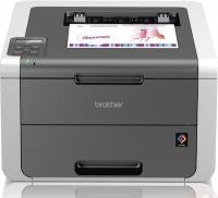 Принтер Brother HL-3140CW, цветной светодиодный A4, 18 стр/мин., 2400x600 dpi, 64 Мб, подача: 251 лист., вывод: 100 лист., USB, Wi-Fi, ЖК-панель