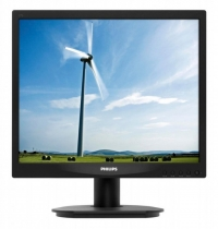 "Монитор Philips 17"" 17S4LSB (00/01) Black TN 5ms 5:4 DVI 10M:1 250cd"