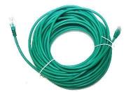 "Патчкорд литой ""Aopen"" UTP кат.5е 15м зеленый <ANP511_15M_G>"