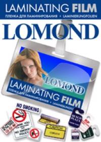 Пленка Lomond  для ламинирования A7 (80x111), 100мкм, Матовая, 25 пакетов.