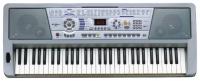 SUPRA SKB-614 (61-клавишный обучающий синтезатор, LED дисплей,  33 Демонстрационные песни, 100 Тембров / 100 Ритмов/ 8 Ударных инструментов, Игра одним пальцем / Игра одной рукой, Синхронизация / Пополнение, Регулировка эффектов Vibrato, Sustain, Программ