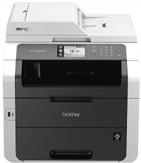 МФУ Brother MFC-9330CDW цветной светодиодный принтер/сканер/копир/факс, A4, 22 стр/мин, 600x2400 dpi, 192 Мб, дуплекс, подача: 251 лист., вывод: 100 лист., ADF35, Post Script, Ethernet, USB, Wi-Fi, цветной ЖК-дисплей