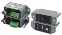 Комплект Orient для передачи видео NT-2401T одноканальный, по витой паре, макс.дистанция 1200м для цветного / 2000м для ч/б сигнала, встроенный усилит