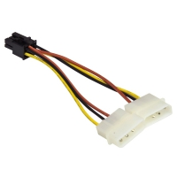 Кабель ORIENT C391 PCI Express Video (2x4pin-6pin)