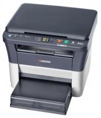 МФУ Kyocera Ecosys FS-1020MFP лазерный принтер/сканер/копир, A4, 20 стр/мин, 1800x600 dpi, 64 Мб, подача: 250 лист., вывод: 100 лист., USB, ЖК-панель