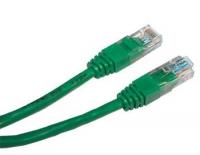 Кабель Patch cord UTP 5 level 1m Зеленый Медный