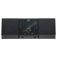 Микросистема DVD Mystery MMK-702U серебристый