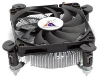 Вентилятор Glacialtech Igloo i620 Soc-1150/1155/1156/ 3pin 29dB Al 65W 160g клипсы low-profile BULK