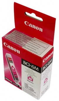Картридж струйный Canon BCI-6M 4707A002 пурпурный BJC-8200 Photo, BJ-S-800/S-900/I950/I9100