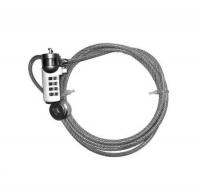 Трос безопасности для защиты ноутбуков с кодовым замком Cable Lock NCL-102