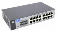 Коммутатор HP (J9662A) V1410-16, 16-ports 10/100Base-Tx, liftime warranty