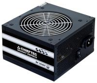 Блок питания  Chieftec 500W Retail GPS-500A8 v.2.3, КПД > 80%, A.PFC, 1x PCI-E (6+2-Pin), 3x SATA, 2x MOLEX, Fan 12cm