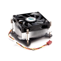 CPU Fan DP6-8E5SB-PL-GP <retail, для LGA 1150/1155/1156, 4 пин, TDP 82 Вт, PWM,винты, Al радиатор, низкопрофильный, общая высота 38 мм, вентил. 80х80х15 мм, 2600 об/мин, 27.61 CFM, rifle bearing>