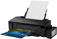 Принтер Epson L1300, 4-цветный струйный, A3+, 15 (5.5 цв) стр/мин, 5760x1440 dpi, подача: 100 лист., вывод: 50 лист., USB, печать фотографий (старт.чернила - около 7100 ч/б документов А4 и 5700 цветных документов А4)