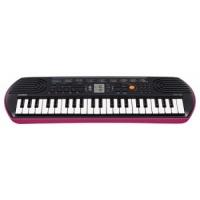 Синтезатор Casio SA-78 (44мини-клав,100тон,50ритм,10пьес,5удар.пэд,2х0.8Вт,розовый.!Без БП AD-E95)