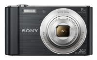 "PhotoCamera Sony Cyber-shot DSC-W810 black 20.4Mpix Zoom5x 2.7"" 720p SDHC MS Pro Duo Super HAD CCD IS el NP-BN1"