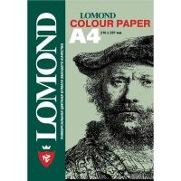 Офисная цветная бумага LOMOND, Lagoon (Светло-зеленый), A4, 160 г/м2, 125 листов, пастельный тон.