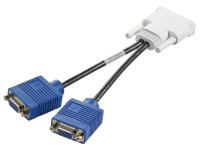 Кабель DMS-59 to Dual VGA <Cable for Quadro FX 280, 285, 290, 330, 400, 440>