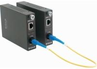 Сетевое оборудование D-Link (DMC-1910R/A8A) Конвертер 1G UTP в 1G SM Single Fiber (15km, 1xSC), ресивер
