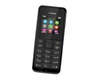 """Мобильный телефон Nokia 105 черный моноблок 1.4"""""""