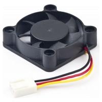 Вентилятор Вентилятор 40x40x10, подшипник,  шнур 7см, 3pin D40BM-12A
