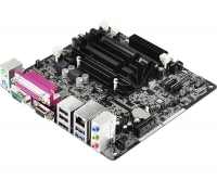 Материнская плата ASRock D1800B-ITX CPU Atom integrated DDR3 mini-ITX AC`97 6ch(5.1) GbLAN SATA2 VGA+HDMI+COM+LPT