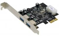 Контроллер ST-Lab U710 2 ext (USB3.0), PCI-Ex1