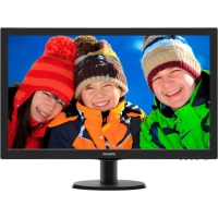 "Монитор Philips 27"" 273V5LHSB (00/01) Glossy-Black TN LED 5ms 16:9 HDMI 10M:1 250cd"