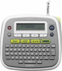 Принтер для наклеек Brother P-Touch PT-D200 (ленты TZe 3,5/6/9/12 мм, 20 мм/с, 180т/д, ручной обрез, БП, лента 12мм/4м, замена PT-1280)