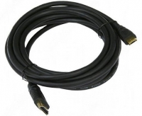 Кабель HDMI Gembird/Cablexpert, 10м, v1.4, 19M/19M, черный, позол.разъемы, экран, пакет  CC-HDMI4-10M