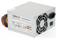 Блок питания CROWN CM-PS400W (20+4in, 80mm FAN, SATA*2, PATA(big Molex)*4, FDD*1, 4+4pin, Lines 1x12V OEM)