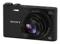 "PhotoCamera Sony Cyber-shot DSC-WX350 black 18.2Mpix Zoom20x 3"" 720p SDHC MS Pro Duo Super HAD CCD IS el"