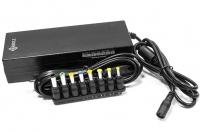 Аксессуар к ноутбуку Универсальный блок питания для ноутбука Kreolz NPA901 (12/15/16/18/19/20/24В,  90 Вт, LCD дисплей, USB, 8 переходников