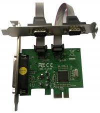 Контроллер * PCI-E COM/LPT (2+1)port MS9901 bulk