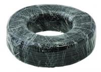 Кабель Кабель телефонный  4 жилы  100м CCA черный  (ШТЛП-4)  REXANT (01-5109-3)