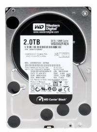 """Жесткий диск WD Original SATA-III 2Tb WD2003FZEX Black (7200rpm) 64Mb 3.5"""""""