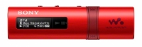 Плеер Flash Sony NWZB183FR.EE 4Gb красный/FM