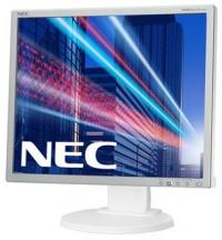 "Монитор NEC 19"" EA193Mi monitor,Silv/White(250cd/m2,1000:1,6ms,1280x1024,178/178,Hight adj.110mm;Swiv;Tilt;Piv;D-Sub,DVI-D;Display port; Internal PS; 1+1W;TCO5,ISO 9241-307(pixel failure class I)"