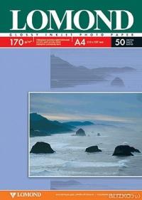 Бумага Lomond 0102015 A4/190г/м2/50л. матовая для струйной печати до 2880dpi