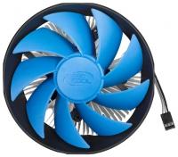 Вентилятор Deepcool GAMMA ARCHER PRO Soc-1150/1155/AM3+/FM1/FM2 4pin 17-21dB Al+Cu 110W 315g скоба
