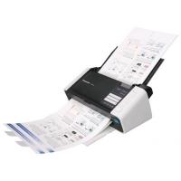 Сканер Panasonic KV-S1015C-X цветной, А4, макс. скорость 20лист./40 изобр./мин, дуплекс, 100-600 dpi, ADF 50 л.(80г/м2), USB 2,0, плотность бумаги 40