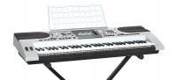 SUPRA SKB-615S (61-клавишный обучающий синтезатор, LED дисплей,  2 демонстрационных и 100 обучающих песен, 162 Тембра / 200 Ритмов/ 8 Ударных инструментов, Настройки темпа / настройка уровня громкости звука / настройка уровня громкости аккомпанемента, Про