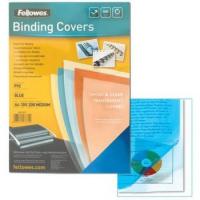 Обложки для переплёта Fellowes (FS-5376001) прозрачные пластиковые А4 0.15 мм 100 шт
